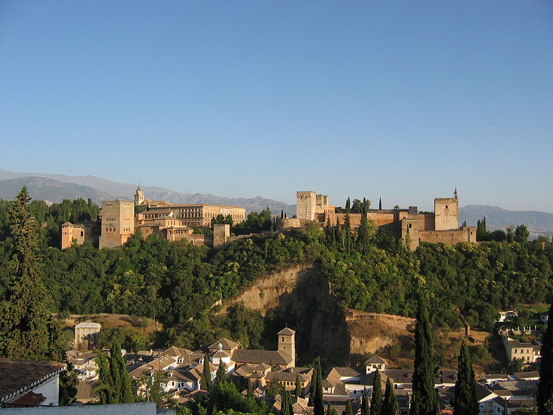 File:Alhambra Granada desde Albaicin.jpg