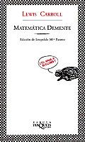 Portada de Matemática demente (Fábula)