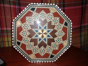 Bandeja octogonal de 35 cm.