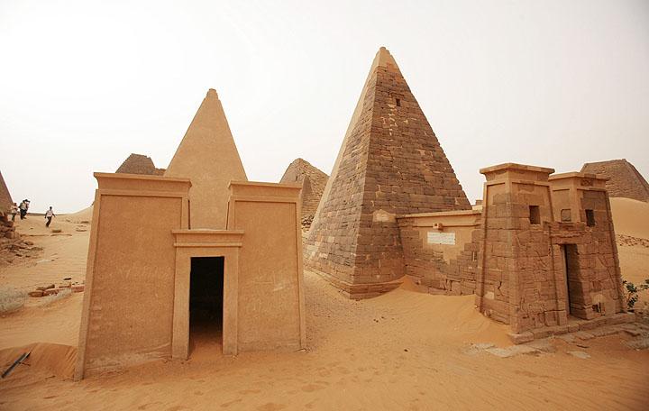 Pirámides de Meroe 7