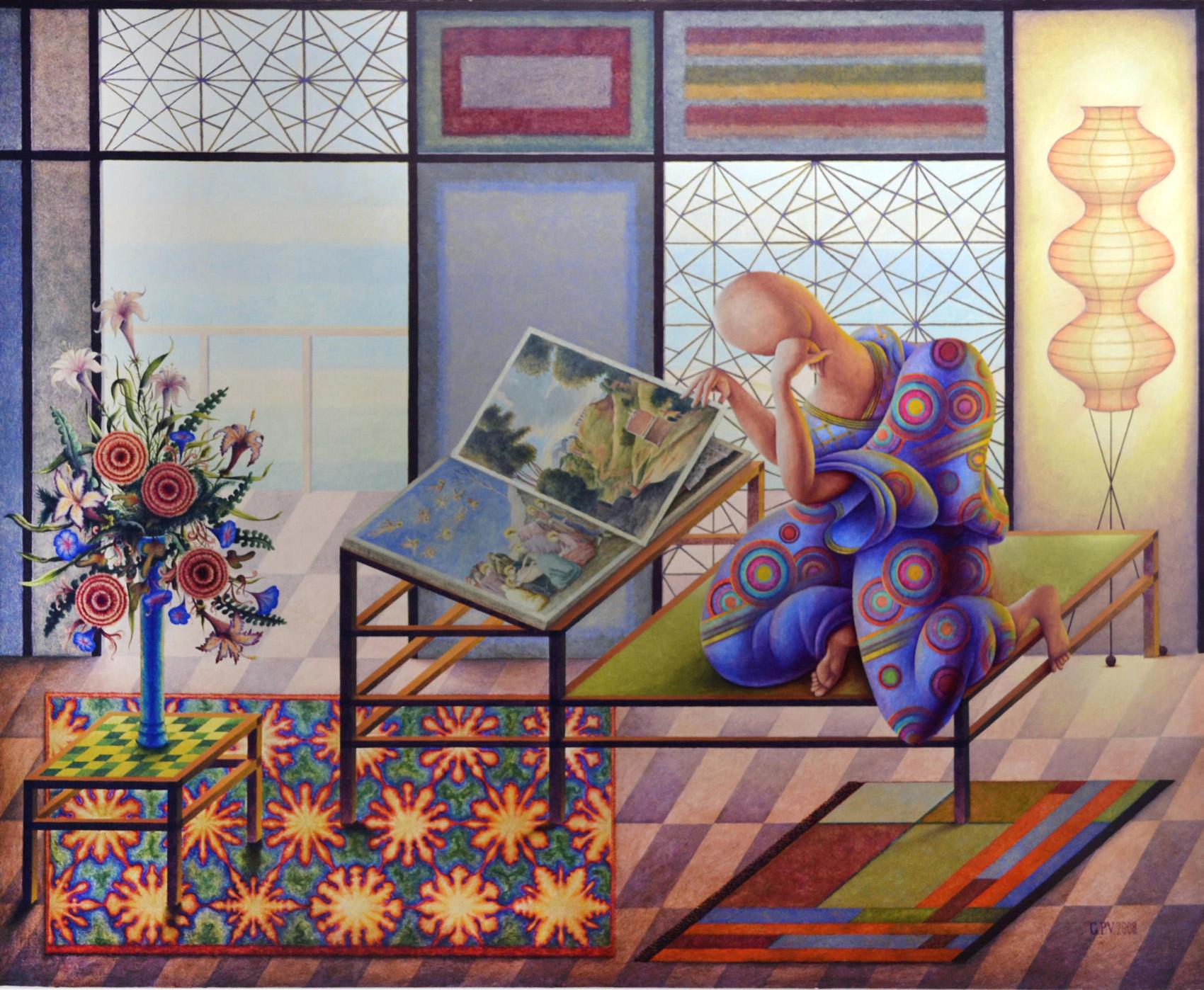 Pinturas de Guillermo Pérez Villalta