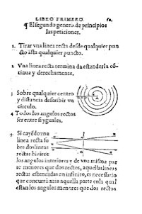 Elementos Zamorano Libro I Postulados