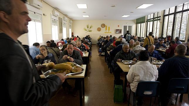 Comedor social en Madrid