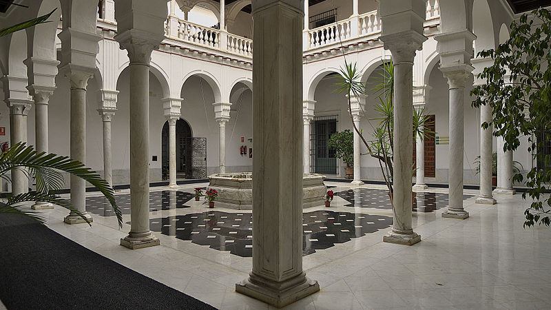 File:Palacio de Mañara (Sevilla). Patio.jpg