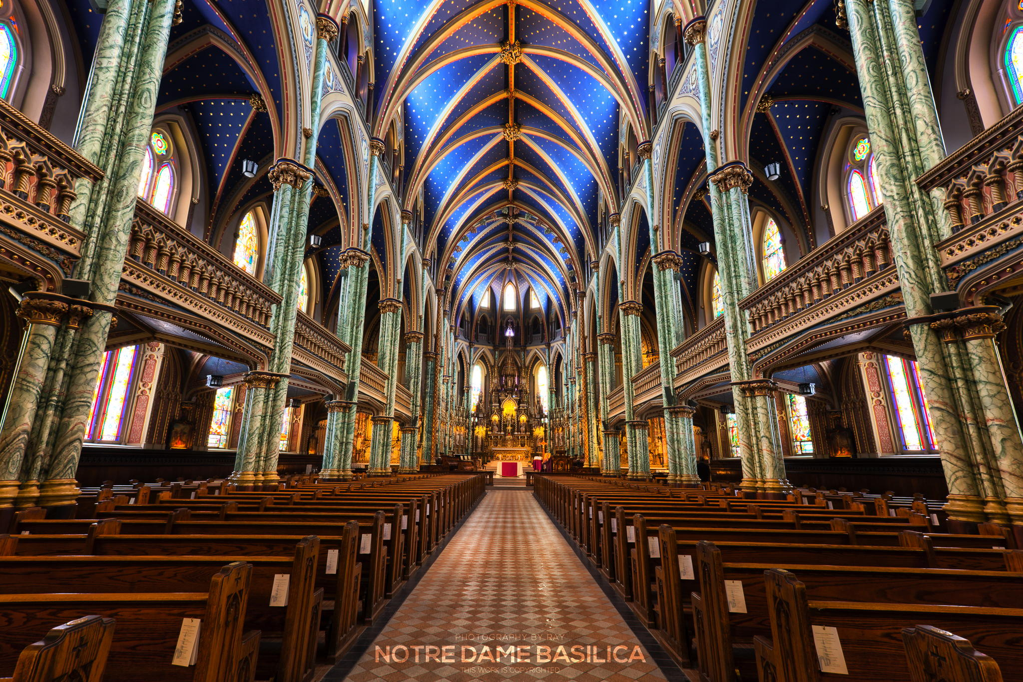 Photograph Notre Dame Basilica by Ray C on 500px