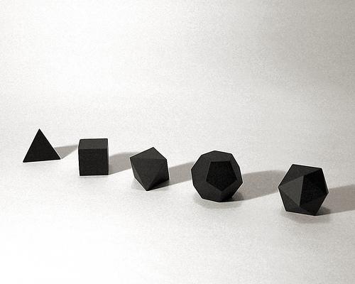 Platonic Solids por ! Polyhedra !.