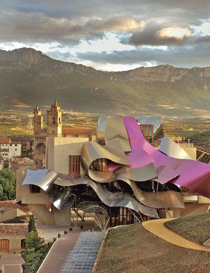 Frank Gehry's Hotel Marqués De Riscal