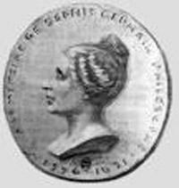 Imagen de moneda con la efigie de Sophie