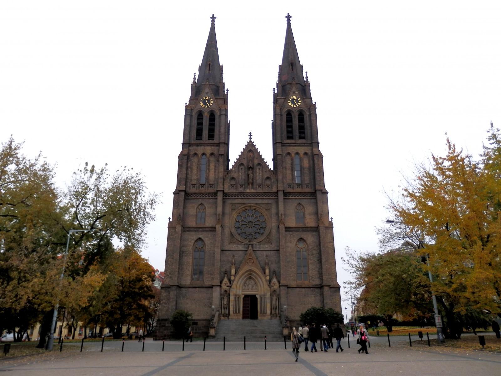 Praha - kostel sv. Ludmily