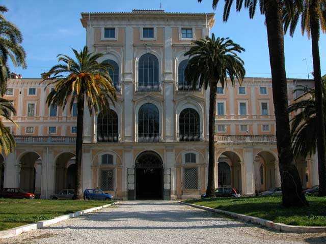 La sede dell'Accademia Nazionale dei Lincei