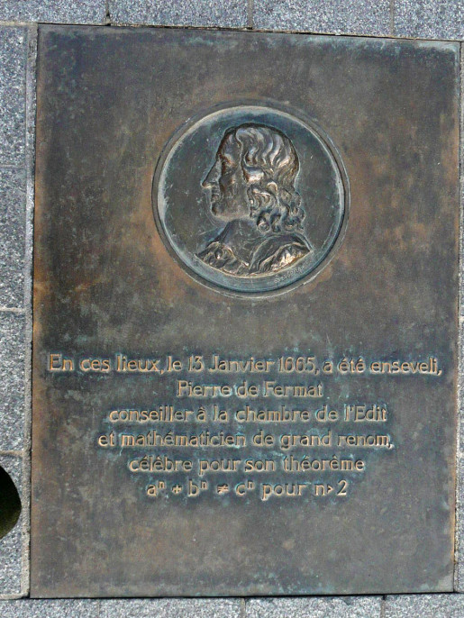 Fermat_burial_plaque