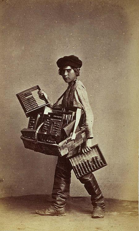 Carrick vendedor ábaco