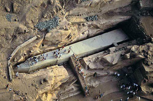 Obelisco inacabado de Asuán