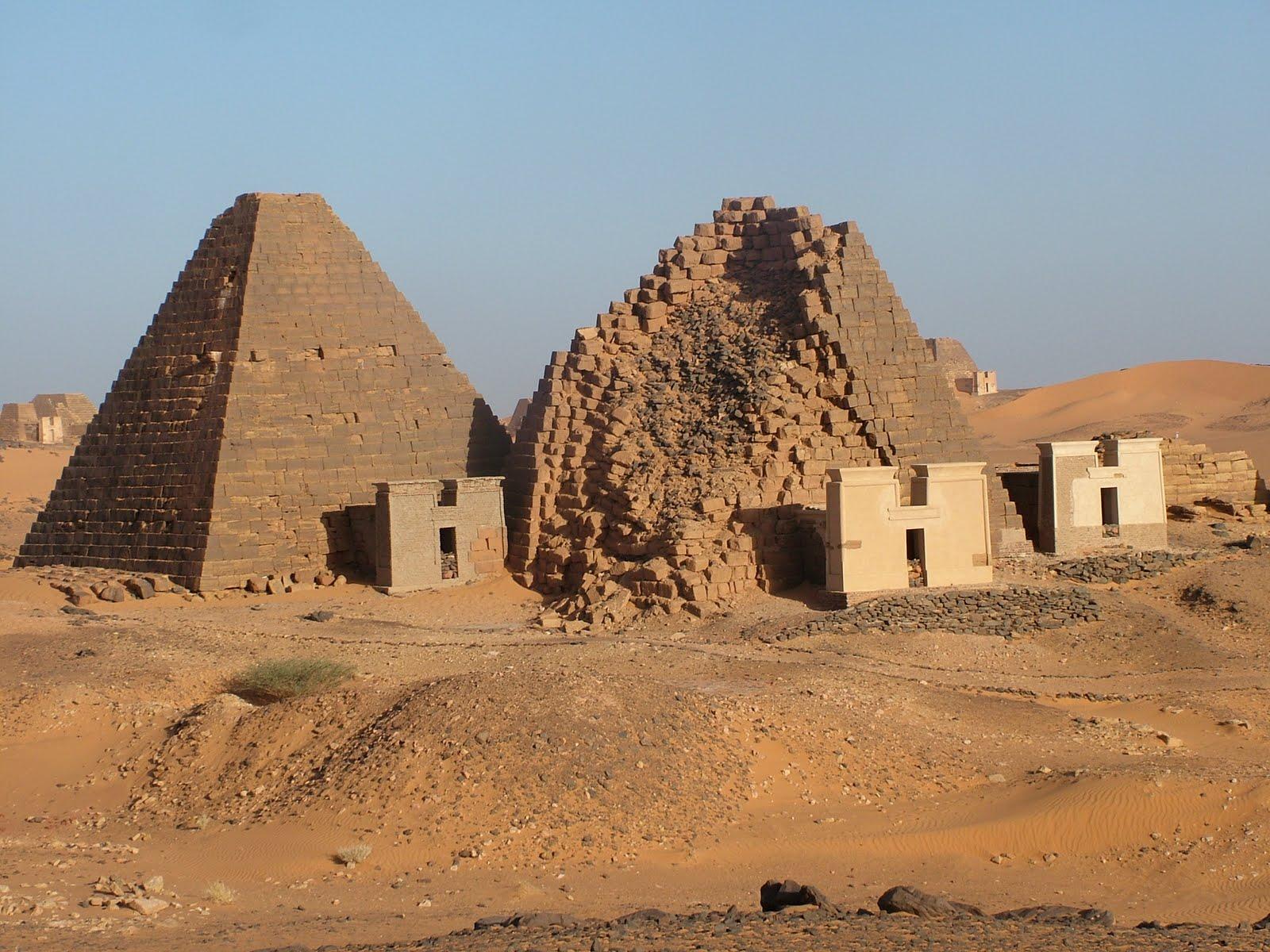 Pirámides de Meroe 4